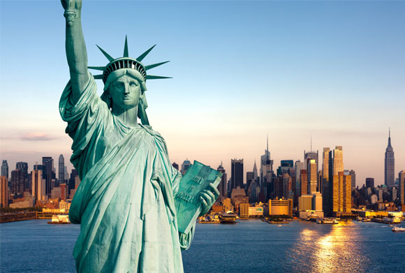 Nigerian live abroad Liberty statue America Africans