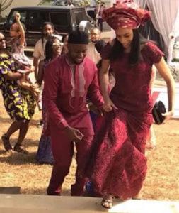 Okojo Iweala's son