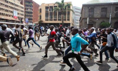 Students riot