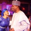 Zahra Buhari and hubby
