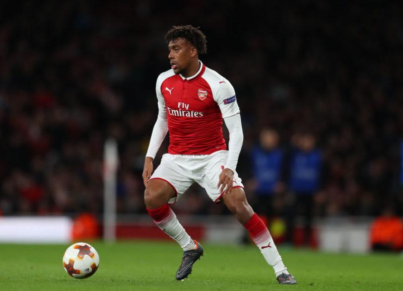 Alex Iwobi bid Arsenal