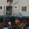 Fire guts building in Mushin