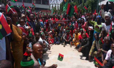 Kanu vs Uwazuruike: Our leader being outside the country doesn't make him a coward– IPOB slams MASSOB