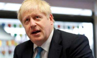 UK's PM Boris Johnson involved in car crash