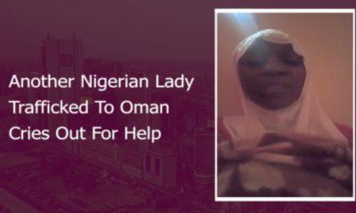 Nigerian lady Oman