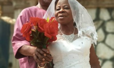 60-year-old bride