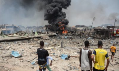 Abule Ado explosion: Catholic priest reportedly dies while trying to save endangered students