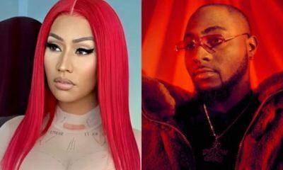 Davido announces collaboration with Nicki Minaj in upcoming album