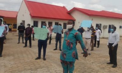 Covid-19: Resident doctors protest unpaid salaries in Ondo