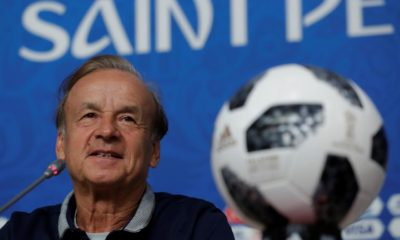 Gernot Rohr will stay on as coach of the Super Eagles- NFF President
