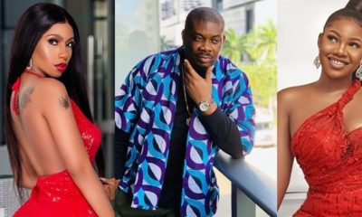 Don Jazzy asked me to make peace with Mercy, Tacha reveals